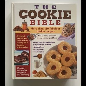 The Cookie Bible ultimate cookbook
